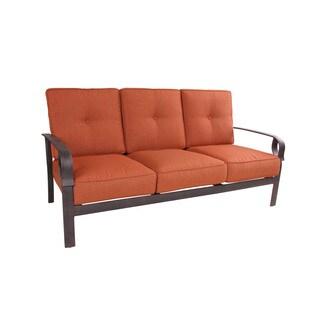 Aspen Aluminum Deep Seating Sofa with Cushions