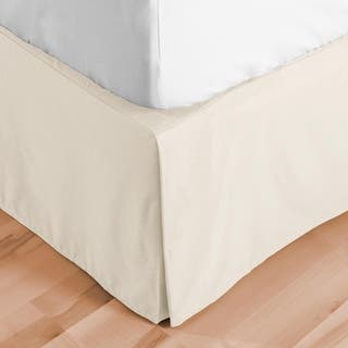 Bed Skirt 15-inch Tailored Drop Pleated Dust Ruffle|https://ak1.ostkcdn.com/images/products/15957935/P22356412.jpg?impolicy=medium