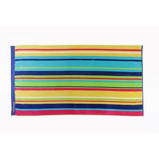 Panama Jack Beach Stanmore Stripe 40x70 Cotton Jacquard Beach Towel