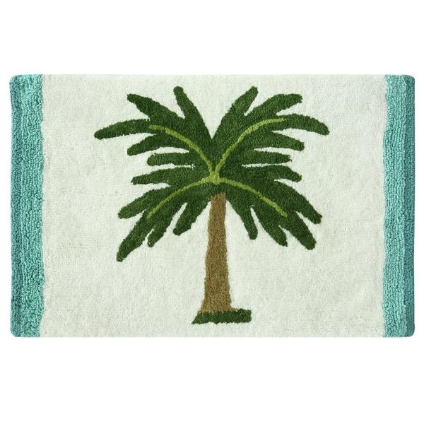 Palm Tree bath rug by Bacova