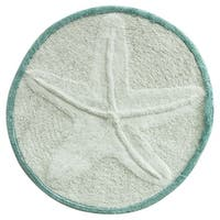Starfish bath rug by Bacova