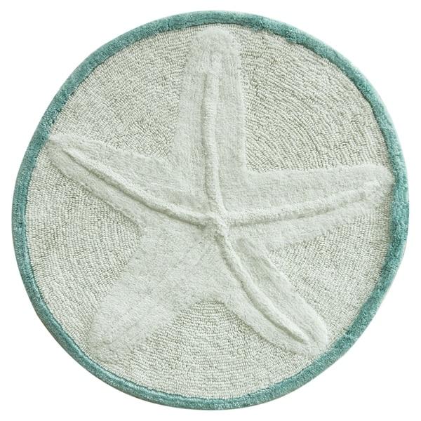 Starfish bath rug by Bacova
