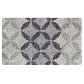 Gradient Circles bath rug by Bacova