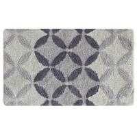Gradient Circles bath rug by Bacova