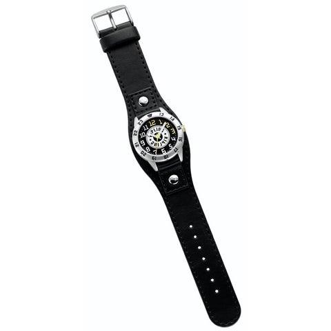Kipling Kids Captain black leather Quartz Watch