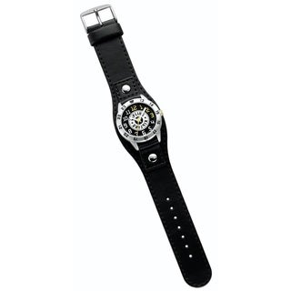 Kipling Kids Captain black leather Quartz Watch