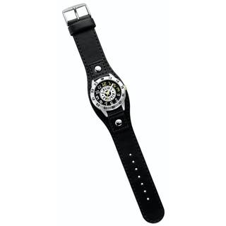 Kipling Kids Captain black leather Quartz Watch|https://ak1.ostkcdn.com/images/products/15958851/P22357239.jpg?impolicy=medium