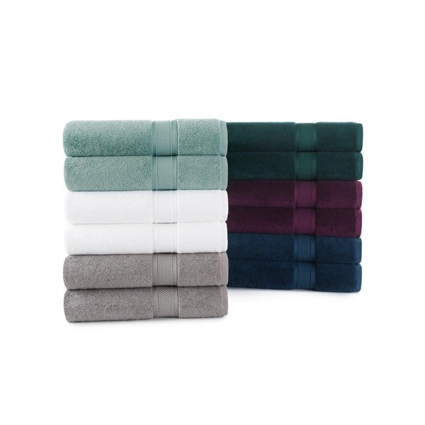Luxury Rayon from Bamboo and Cotton 6-Piece Towel Set