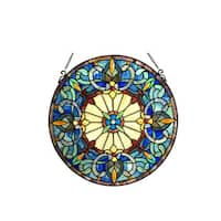 Chloe Frances Collection Victorian Style Window Panel/Suncatcher