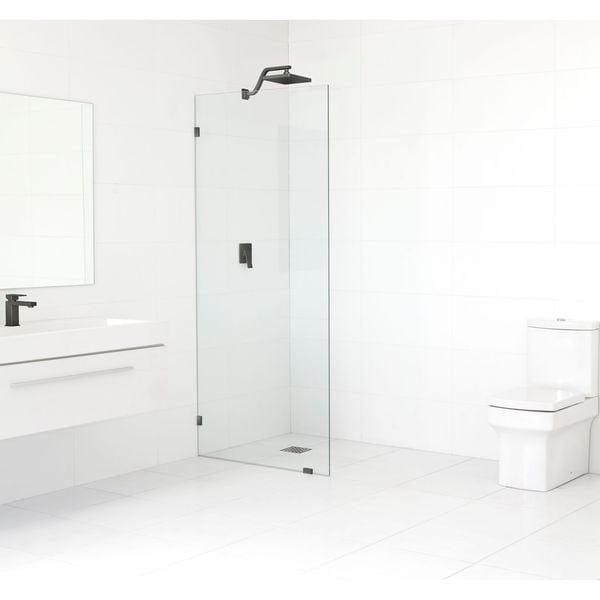 Glass Warehouse 78-inch x 29-inch Frameless Shower Single Fixed Panel