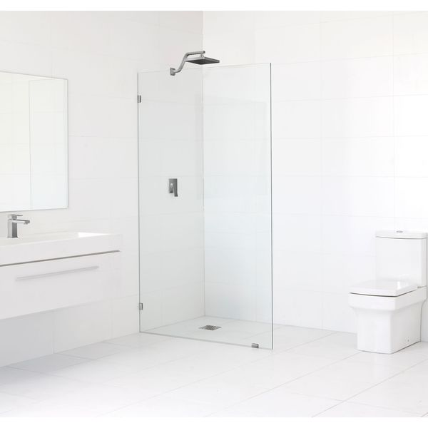 Glass Warehouse 78-inch x 35-inch Frameless Fixed Shower Panel