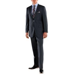 Ferrecci Men's Stunning Solid Navy Blue Regular Fit 2-piece Suit|https://ak1.ostkcdn.com/images/products/15959142/P22357477.jpg?impolicy=medium