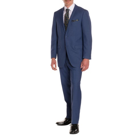 Ferrecci Men's Regal Blue Regular-fit 2-piece Suit