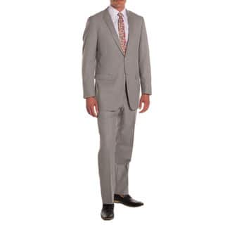 Ferrecci Men's Ford Grey Regular-fit 2-piece Suit|https://ak1.ostkcdn.com/images/products/15959149/P22357479.jpg?impolicy=medium