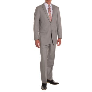 Ferrecci Men's Ford Grey Regular-fit 2-piece Suit