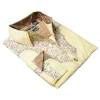 DaVinci Men's '70's New Vintage Western' Shirt