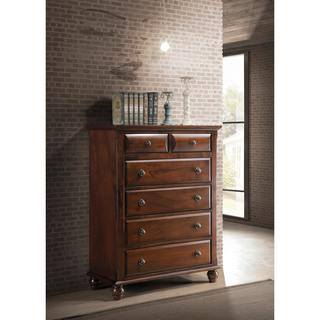Concord Cherry Wood 6-drawer Chest