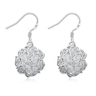 Hakbaho Jewelry Sterling Silver Blossoming Ball Drop Earring|https://ak1.ostkcdn.com/images/products/15959247/P22357569.jpg?impolicy=medium