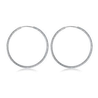 Hakbaho Jewelry Sterling Silver Large Circular Hoops