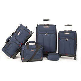 American Explorer Drake Premium 5-piece Rolling Luggage Set|https://ak1.ostkcdn.com/images/products/15959285/P22357597.jpg?impolicy=medium