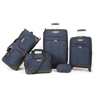 American Explorer Drake Premium 5-piece Rolling Luggage Set
