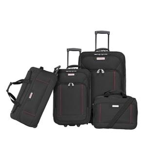 American Explorer Columbus Premium 4-piece Rolling Luggage Set
