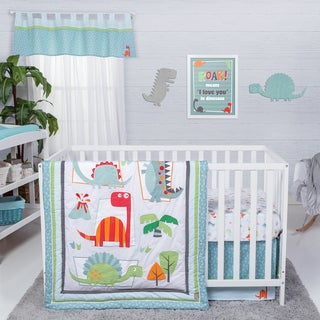 Trend Lab Dinosaur Roar 3-piece Crib Bedding Set