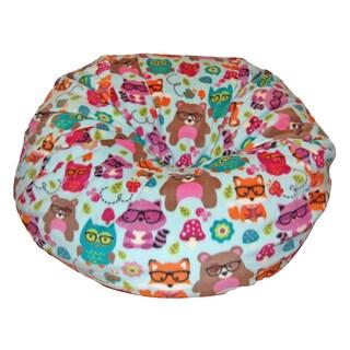 Forest Friends Washable Anti-pill Bean Bag Chair