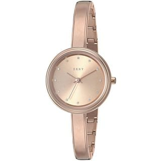DKNY Women's NY2600 'Murray' Crystal Rose-Tone Stainless Steel Watch