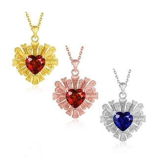 Gold Plated Overlayering Heart Necklace