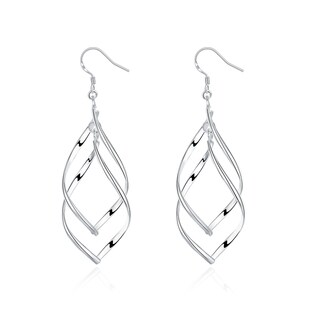 Hakbaho Jewelry Sterling Silver Inception Drop Earring