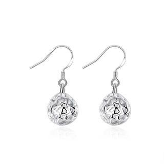 Hakbaho Jewelry Sterling Silver Heart Filigree Drop Earring