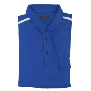 Z Zegna Blue Cotton Polo T-shirt