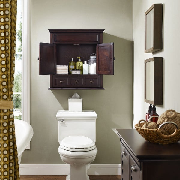 bathroom wall cabinets espresso shop lydia wall cabinet espresso free shipping today 17101