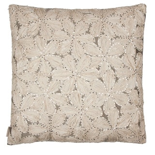 White Taffeta 26x26 Throw Pillow