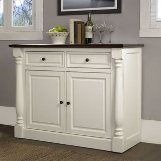Crosley Furniture Shelby White Buffet