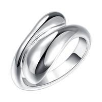 Hakbaho Jewelry Tear Drop Ring in Sterling Silver