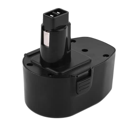 14.4V 1500mAh Ni-CD DC9091 DW9091 DW9094 Battery for Cordless Drill (Black)