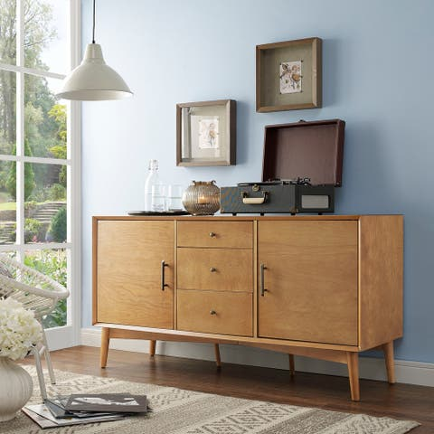 "Landon Sideboard in Acorn - 57""W x 19""D x 30""H"