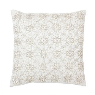 Sivaana SNOWFLAKE THROW PILLOW