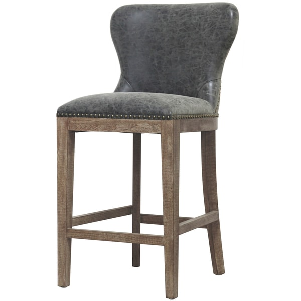 Dorsey Brown and Grey Nubuck Counter Stool. Opens flyout.
