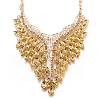 Hakbaho Jewelry Lucite Bib Necklace