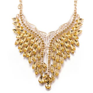 Hakbaho Jewelry Lucite Bib Necklace|https://ak1.ostkcdn.com/images/products/15961252/P22359499.jpg?impolicy=medium