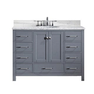 Caroline Avenue 48-in Single Sink Bathroom Vanity