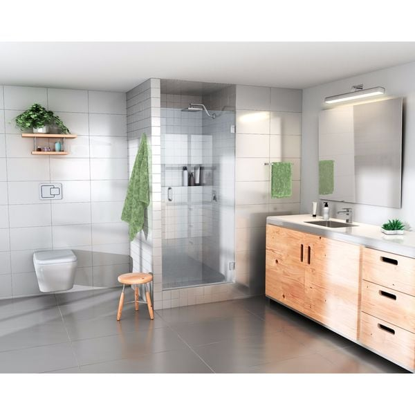 Glass Warehouse 78 Inch X 26 Inch Frameless Shower Door