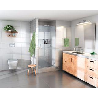 Glass Warehouse 78-inch x 26-inch Frameless Shower Door