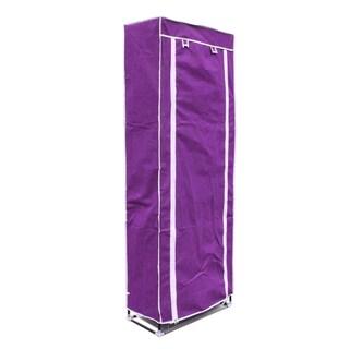 Shoe Storage Rack 10 Rows (Purple)