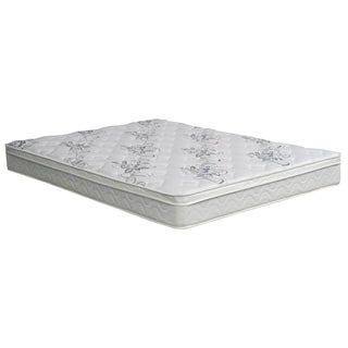 miBasics 9-inch California King-size Euro Top Mattress