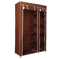 69-inch Portable Large Wardrobe Organizer Rack with  Shelves