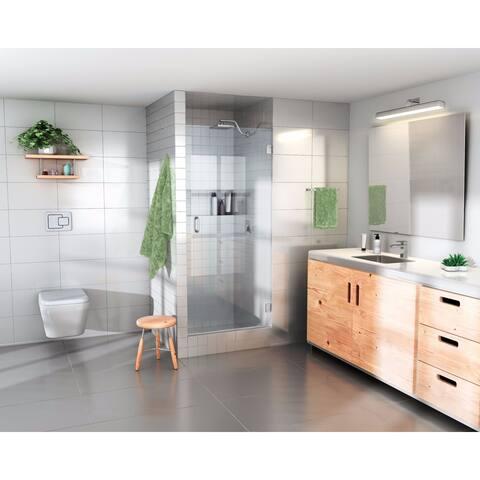 """Glass Warehouse 78 x 28"""" Frameless Shower Door - Door Only"""